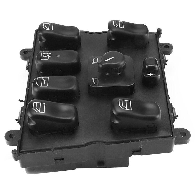 Главный переключатель стеклоподъемника подходит для Mercedes-Benz ML320 W163 ML400 ML430 1998-2005 1638206610