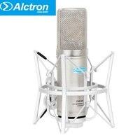 Alctron CM6 MKII mic professional condenser large diaphragm recording studio microphone Handheld with shock mount