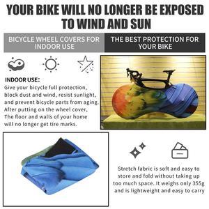 Image 3 - WEST BIKING MTB Road Bike Protector ruote Cover antipolvere antigraffio equipaggiamento protettivo interno 26 27.5 29 700C custodia