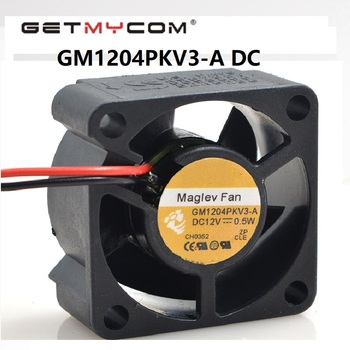 Getmycpm Original GM1204PKV3-A 3Wire DC 12V 0.6W  server inverter axial Cooling Fans magev radiation heat fan