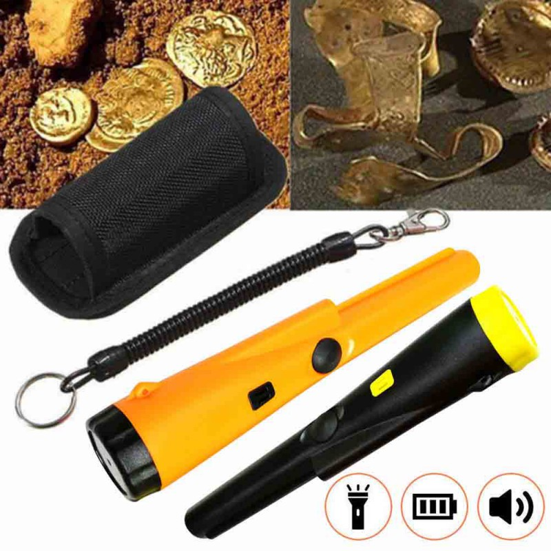 360 Degree Handheld Metal Detector, Outdoor Waterproof Pinpointer Metal Detectors For Treasure Exploration/Archaeology