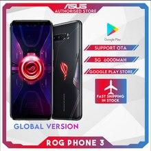 Оригинал ASUS ROG Телефон 3 Global Версия ZS661KS 5G Смартфон Snapdragon 865% 2F865Plus NFC Android Q OTA Обновление Игры Телефон ROG3
