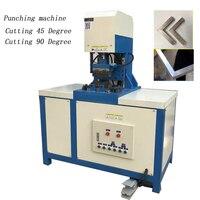Square pipe angle Beveling Cutting  machine hydraulic cutting 90 degree angle machine angle iron channel steel cutting machine