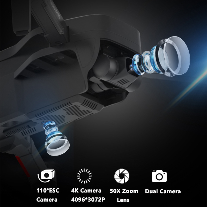 SG906 PRO GPS Drone Mit 2-achse Anti-schütteln Selbst-stabilisierung Gimbal WiFi FPV 4K Kamera bürstenlosen Drone Quadcopter VS F11 ZEN K1