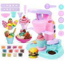 Девочка игрушка пластилин «сделай сам» пресс форм Цветной глины