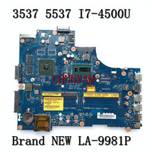 Mainboard 3537 Dell Inspiron LA-9981P NEW for 15R Laptop I7-4500u/Hd8670m/Mainboard/..