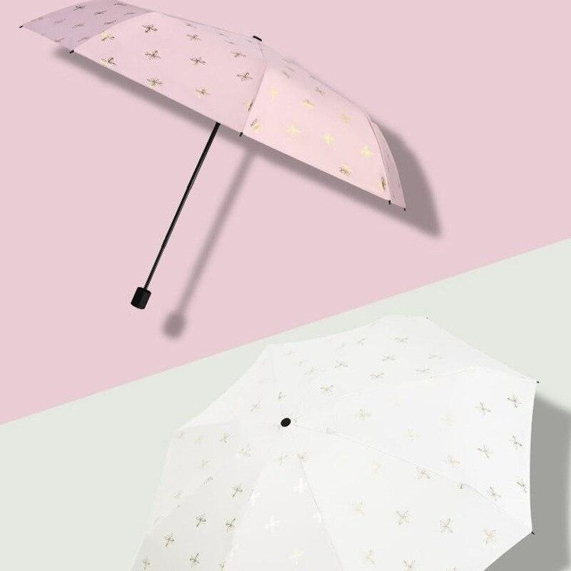 bolso guarda-chuvas guarda-sol ins 5-guarda-chuva dobrável para feminino uv ys200125