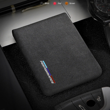 Alcantara Bank Credit ID Card Holder Men Package For BMW E46 E90 E60 5/6/7 Series F10 F20 F30 GT F07 X3 f25 X4 X5 X6