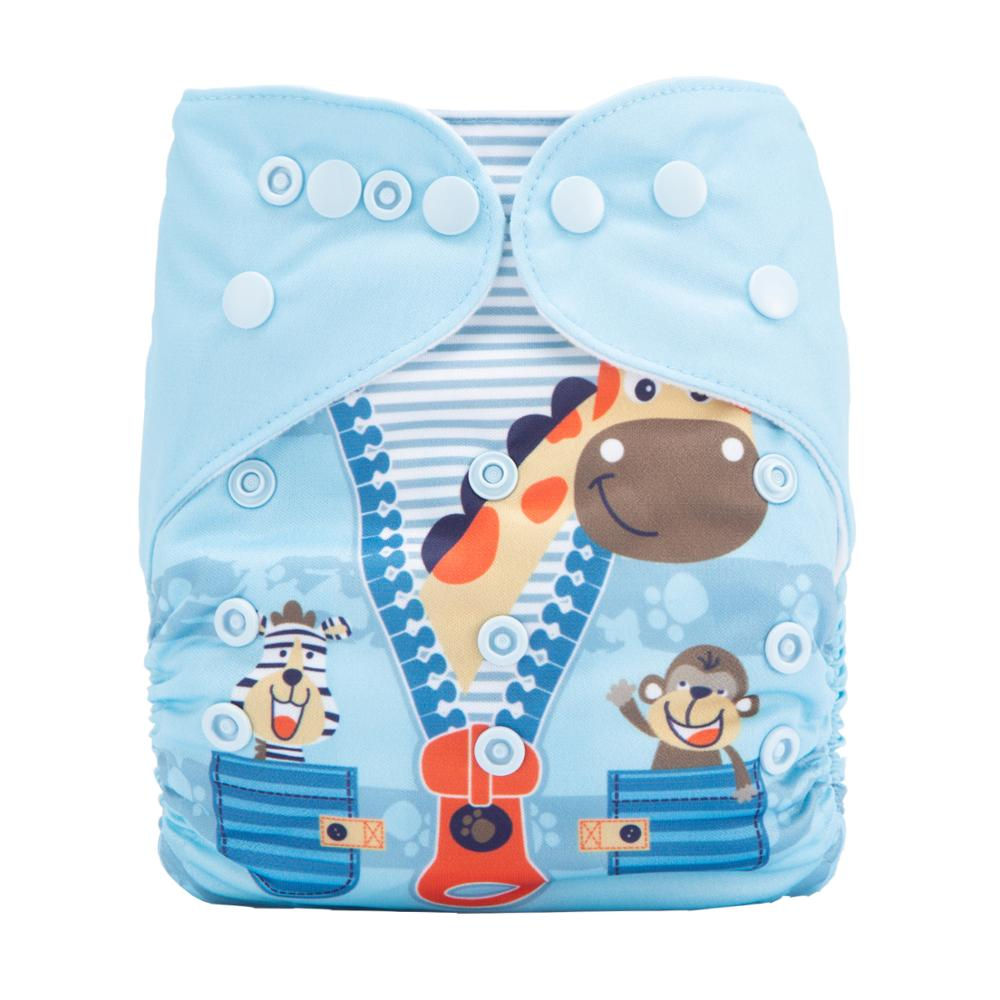 One Size For Reusable Baby Cloth Diapers Biodegrable Baby Chrismas Cloth Diapers Products DY56