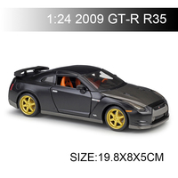 Maisto 1:24 diecast Car 2009 GT R GTR R35 Diecast Car Model Toy Vehicle Car Model Maisto Models Kids Car