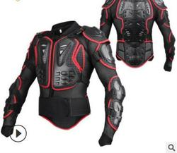Motorcycle Jacket Armor Protection Motocross Clothing Protector Motorbike Moto Motor Bike Spine Chest Protector Gear