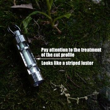 في الهواء الطلق التخييم الطوارئ إضاءة أوتوماتيكية 25 سنوات التيتانيوم التريتيوم الغاز مصباح كيرينغ إنقاذ الحياة أضواء أدوات إنقاذ السلامة