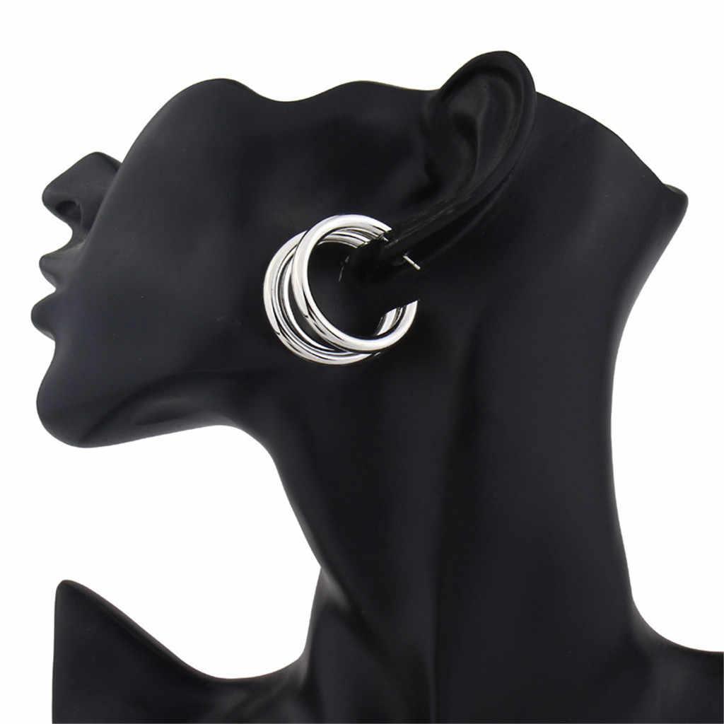 Hoop küpe kadınlar için Bohemian İnci akrilik asetat kurulu kabuk kadın takı elmas küpe kübik zirkonya küpe