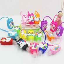 10pcs Cartoon Silicone Mini Hand Sanitizer Disposable No Cle