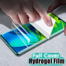 300D 3-1Pcs Hydrogel Film For Xiaomi Note 10 CC9 Pro CC9E A1 A2 A3 Lite 9 SE CC9E Pocophone F1 Full Screen Protector Not Glass(China)