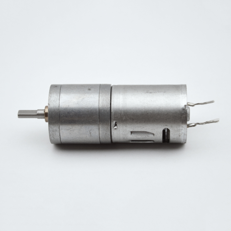 25MM <font><b>370</b></font> Brush <font><b>Motor</b></font> double flat shaft <font><b>Motor</b></font> Geared Gearmotor High Torque DC 12V 30RPM /6v 15RPM 6v/12V/24V for Robot Toys image