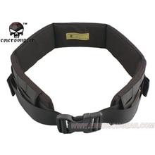 emersongear Emerson Combat Belt Padded Patrol Belt Fight Light Battle Outdoor Hunting Military Army Molle Waist Belt Black