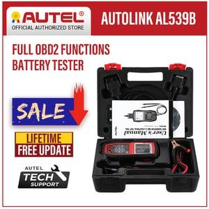 Image 1 - Autel AutoLink AL539B OBD2 Scanner Auto Code Reader OBDII Diagnostic Tool Battery Tester Electrical Test Automotive Tools OBD II