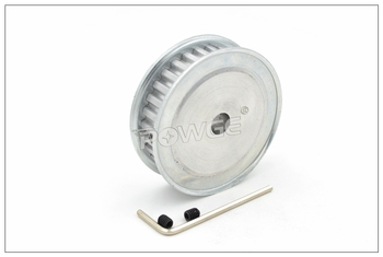 POWGE 20 Teeth T5 Timing Pulley Bore 5-20mm Fit W=10/15mm T5 Synchronous Belt 20T 20Teeth T5 Timing Belt Pulley 20-T5