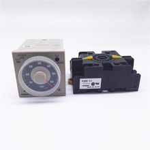 цена на H3CR series solid state timer H3CR-A timing relay with connecting socket P2CF-11
