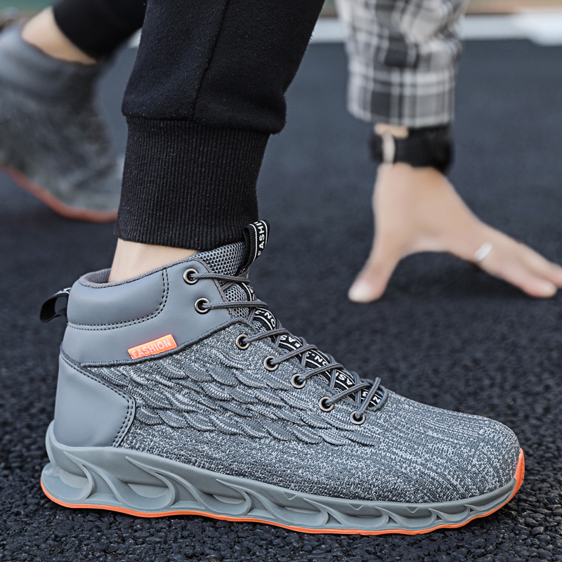 Image 3 - Autumn and winter shoes men outdoor sports shoes basketball shoes truck shoes mens shoes brand shoes China mens casual shoesMens Casual Shoes   -