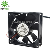 lamp dc 12v Fan Delta  AFB0812H 8025 80mm DC 12V Dual Ball bearing cooling Fan 8cm Mosquito Lamp Purifier Incubator Fan (3)