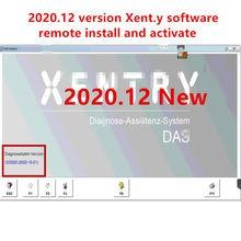 Versão mais recente mb estrela xentry das software de diagnóstico para c4/c5/c6 remoto instalar e ativar mb estrela sd c4/c5/c6 software