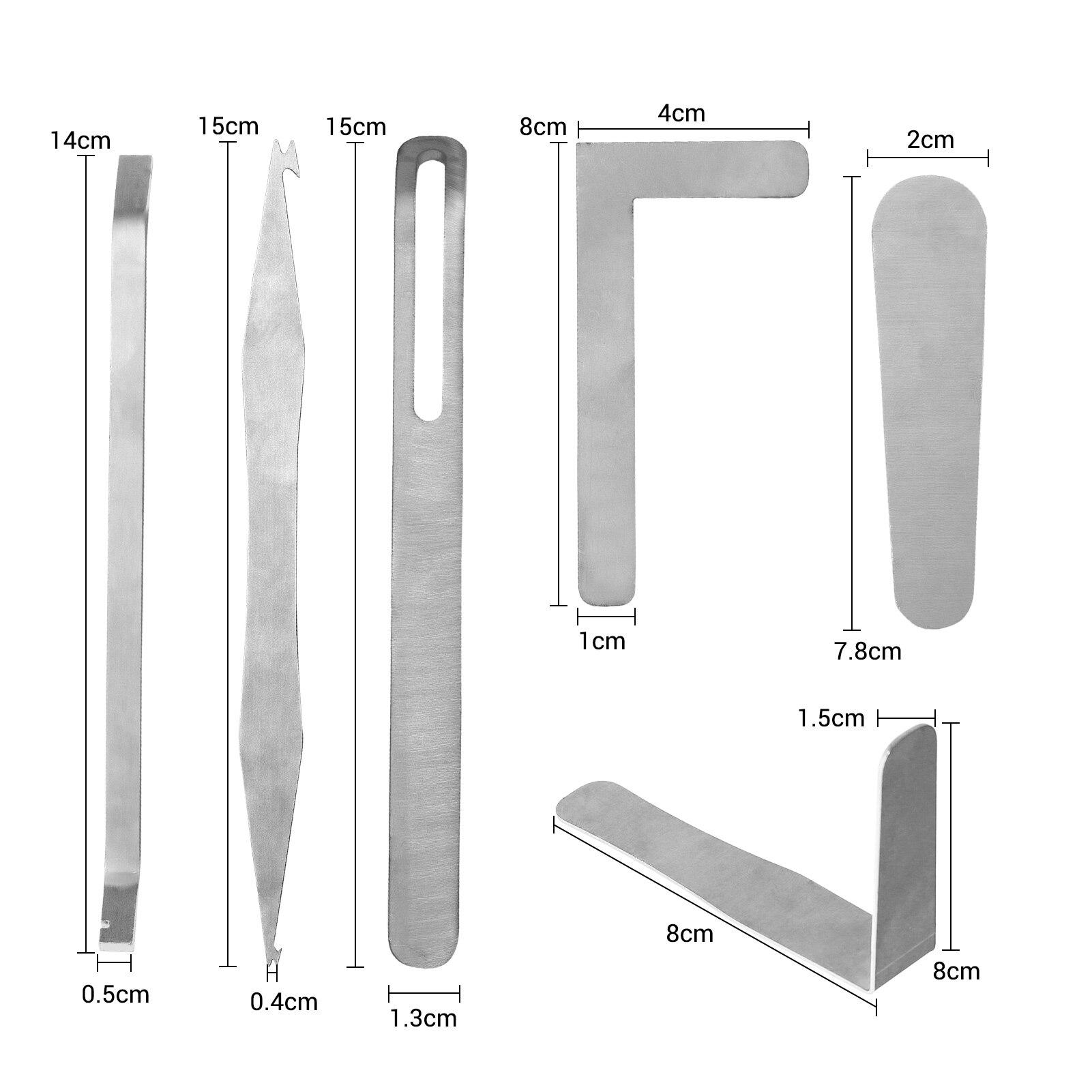 Muslady prático saxofone ferramenta de reparo kit