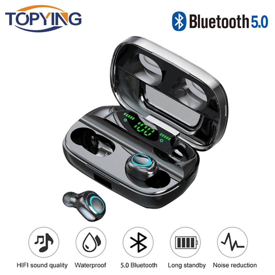 <font><b>Bluetooth</b></font> Earphone For Samsung Galaxy S10 5G S10e <font><b>S9</b></font> Plus S8 S7 S6 Edge S5 S4 S3 Mini Note 9 8 5 4 3 2 Wireless <font><b>Headphone</b></font> Earbud image