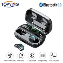 Bluetooth Earphone untuk Samsung Galaxy S10 5G S10e S9 Plus S8 S7 S6 Edge S5 S4 S3 Mini Catatan 9 8 5 4 3 2 Wireless Headphone Earbud(China)