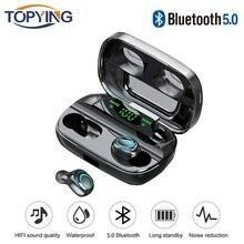 Fone De Ouvido Bluetooth Para Samsung Galaxy S10 5G S10e S9 Plus S8 S7 S6 Borda S5 S4 S3 Mini Nota 9 8 5 4 3 2 Earbud fone de Ouvido sem fio