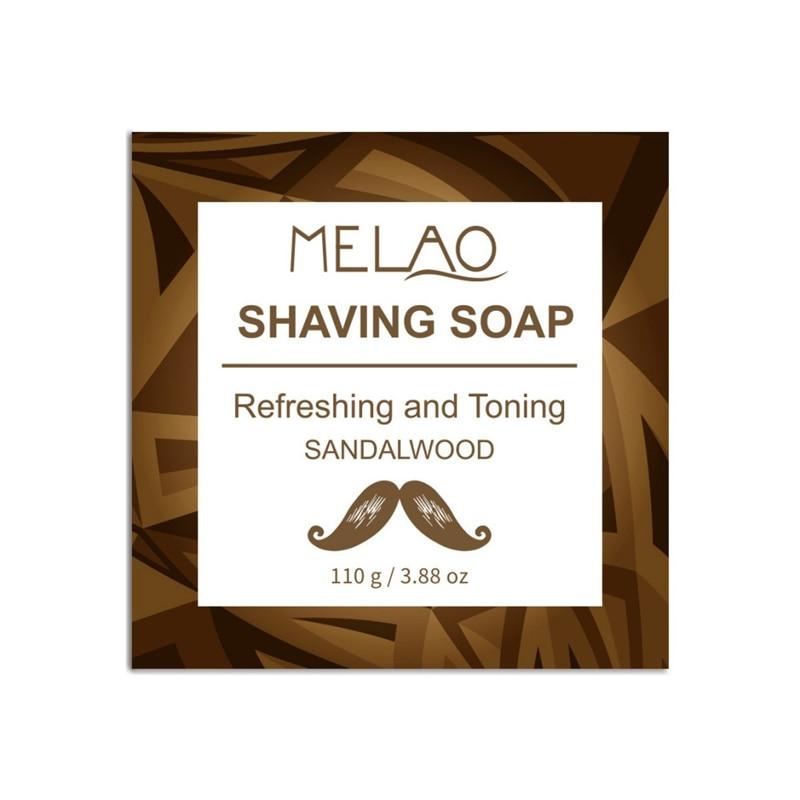 120g Professional Men Beard Shaving Soap Cream Anti-Allergy Shaving Soap Foaming Moisturizing Razor Barbering Beard Care N.w