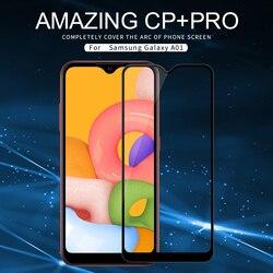 Do samsung Galaxy A01/A11/A31/A41/A51/A71 szkło Nillkin niesamowite CP + Pro 2.5D przeciwwybuchowe szkło hartowane 9H
