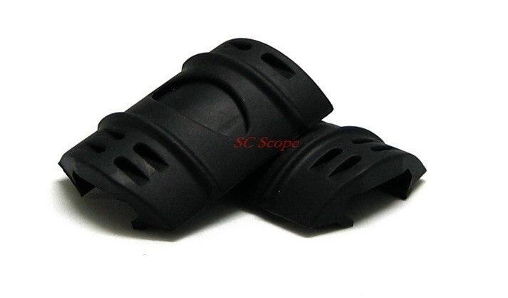 Векторная оптика Picatinny& Weaver Rail резиновая защита крышки панели 12 шт. Пак Пистолет Аксессуары