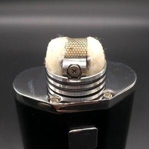 Image 3 - Vape perfil rda atomizador rda rebuildable gotejamento atomizador malha bobina para cigarro eletrônico vaporizador caixa mods fumante