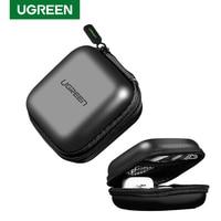 Ugreen-Funda para auriculares Apple Airpods Pro, bolsa dura auriculares inalámbricos con Bluetooth, estuche de almacenamiento de lujo