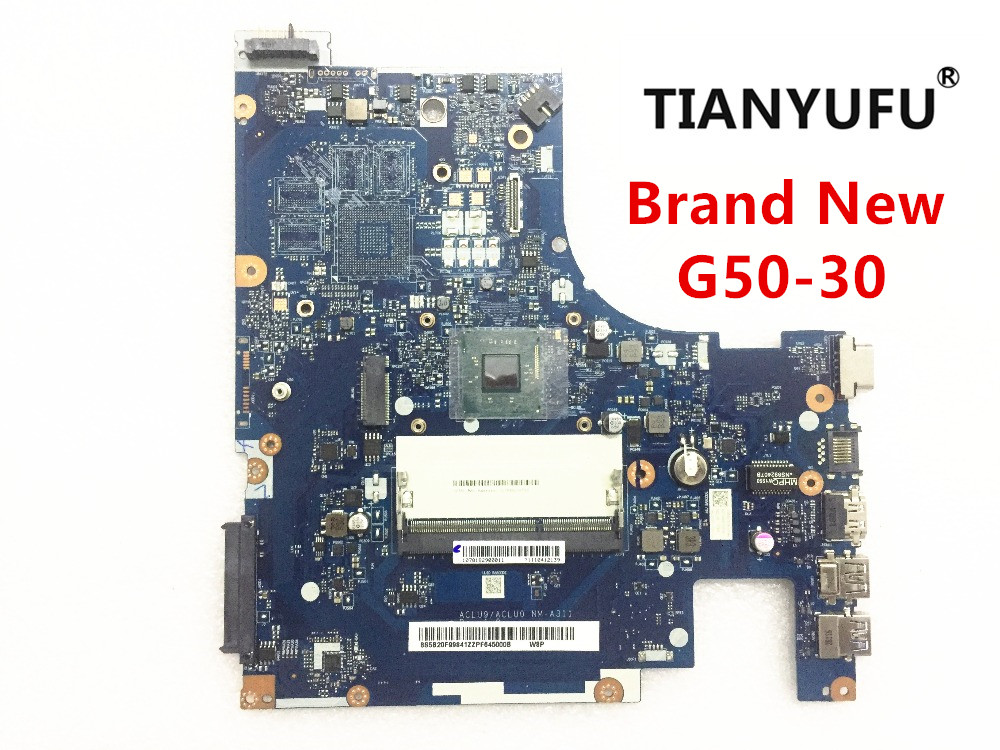 ACLU9 / ACLU0 NM A311 laptop Motherboard  for Lenovo G50 30 notebook ( for INTEL CPU )Motherboard tested 100% work-in Motherboards from Computer & Office
