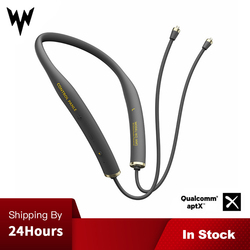 W2-AM1 Wireless Bluetooth V5.0 Earbuds Cable Upgrade Module 2PIN MMCX Connector Support Apt-X with Mic For Android iOS Phone