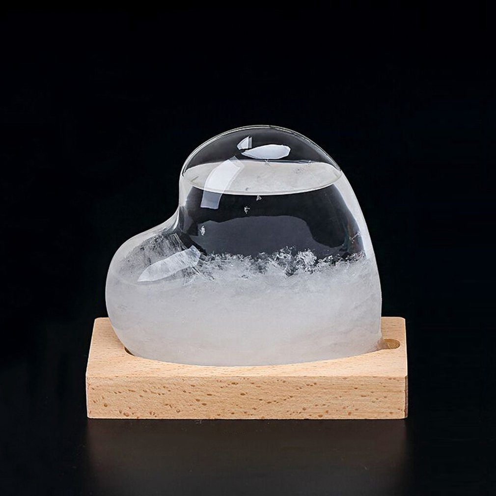 Новинка погода шторм погоды бутылка для дома украшения рабочего Прозрачный Кристалл Стекло Шторм Барометр