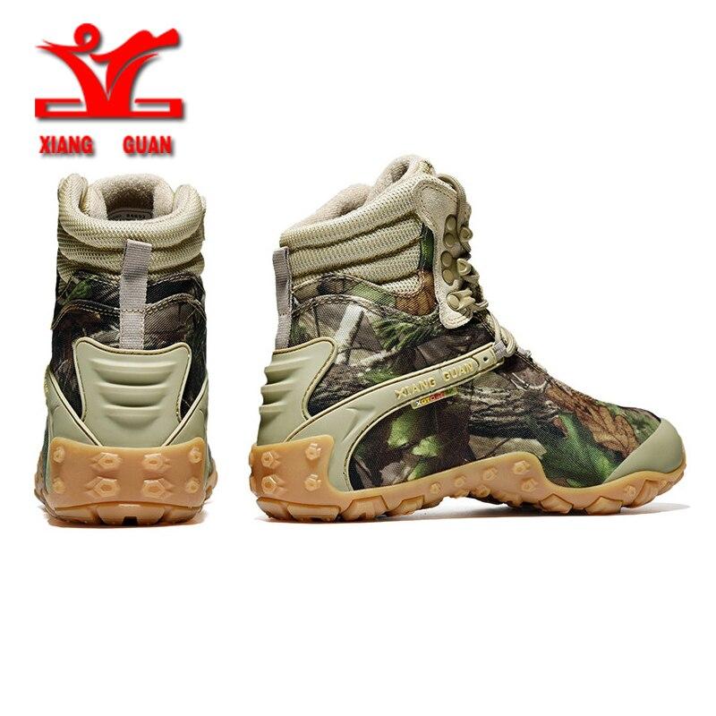 RAX мужские водонепроницаемые треккинговые ботинки Горные походные ботинки из натуральной кожи мужские дышащие водонепроницаемые треккинг... - 3