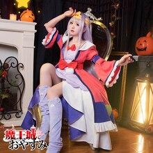 Disfraz de Princesa en el castillo de los Demon para mujer, disfraz de Cosplay de princesa Maoujou de Oyasumi, bonito vestido de Halloween