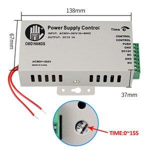 Image 5 - RFID Cửa Điều Khiển Truy Cập Hệ Thống Bộ Cảm Ứng Kim Loại Bàn Phím + Đầu Nguồn điện + Tặng Ổ Khóa Điện Tử Điện Từ Đình Công Chốt Khóa