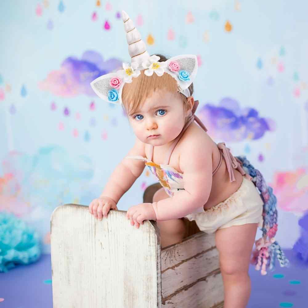 Huiran unicórnio festa de aniversário decoração crianças favor unicórnio decoração de festa unicórnio balões unicornio decoração do chuveiro do bebê menina menino