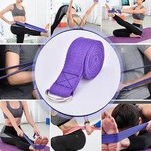 Pilates joga pasy taśmy Slackline taśma do ćwiczeń 183*3.8 pasek do jogi narzędzia szkoleniowe Flex Bar Pull Up Assist D-pasek z pierścieniem akcesoria do jogi