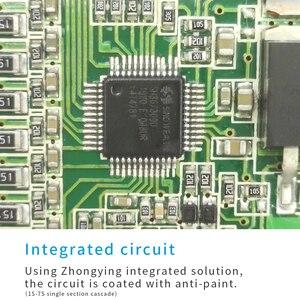 Image 5 - 13s bms 48v 3.7vリチウム電池保護ボード温度等化過電流保護pcb 15A 20A 30A 40A 50A 60A