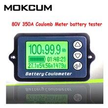 Medidor de batería TK15 de 80V 350A 100A, medidor de capacidad de batería, coulómetro, pantalla de nivel de potencia, indicador de batería de litio