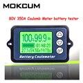 TK15 80V 350A 100A кулонный измеритель заряда батареи тестер емкости батареи кулометр уровень мощности дисплей индикатор литиевой батареи