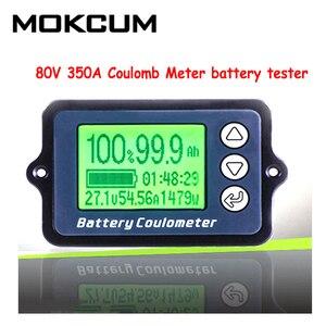 Image 1 - TK15 80V 350A 100A Coulomb metre pil test cihazı pil kapasitesi test cihazı Coulometer güç seviyesi göstergesi lityum pil göstergesi