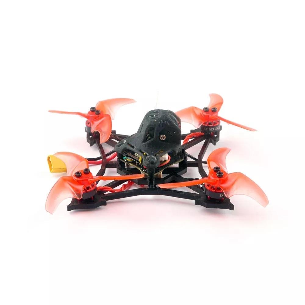 Happymodel Larva X 100mm Crazybee F4 PRO V3.0 2-3S 2.5 Inch FPV Racing Drone BNF W/ Runcam Nano2 Camera