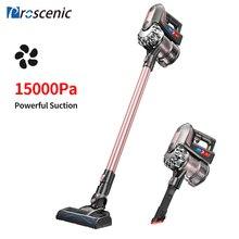 Proscenic p8 plus 15000 pa potência sucção aspirador de pó portátil para a limpeza doméstica pet cabelo